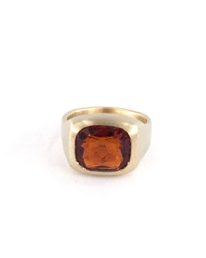 Citrin Siegel Ring von Astrid Siber