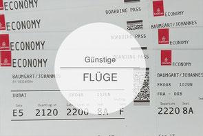 Günstige Flugtickets