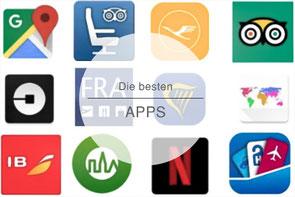 Apps auf Reisen, Reiseapps