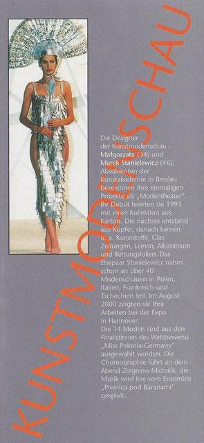 Polonica e.V. - Modenschau 2000