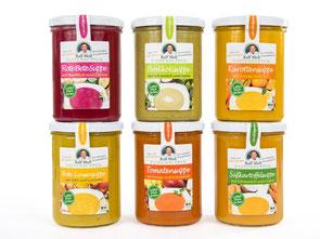 Suppenfasten mit Bio-Fastensuppen