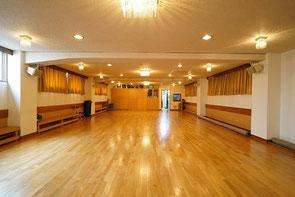 40坪フローリング ダンス トレーニング