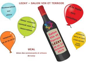 salon vin et terroir 2019 à Leazay par UCAL 79120