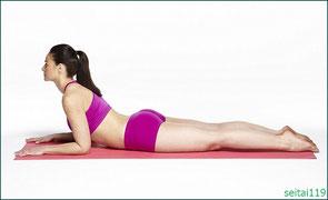 大腰筋,腸腰筋のストレッチ