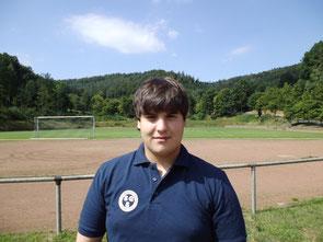 Torwart Leonidas Faltsetas (Noch A-Junioren)