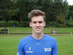 Torwart Tobias Körbel (Noch A-Junioren)