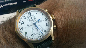 steinhart marine chronograph bronze premium Panerai, Steinhart, Palladium, Watch-Lounge, Watchlounge, Bern, Berne, Certina, Hamilton, B-Uhr, 44mm, 47mm, 44 mm, 47 mm, luminor, marina, 111, marine, flieger, aviation, aviateur, chrono, premium, st1, unitas,