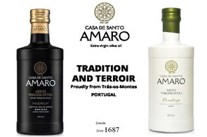 Feinkost aus Portugal, Casa de Santo Amaro, Olivenöl Extra nativ DOP, Triunfo