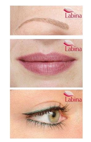 Augenbrauen - Lippen - Augenlid