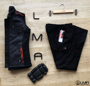 gamme femme LMA workwear epi btp ppe