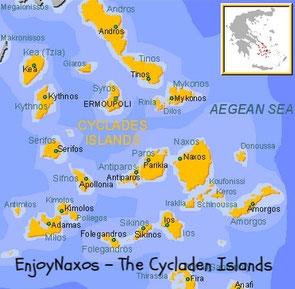 Enjoy Naxos - How to travel to Naxos Greece Hoe kom je op Naxos Griekeland