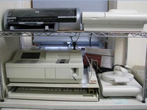 血液検査の機械