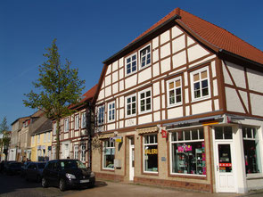 Alte Apotheke in der August-Bebel-Straße