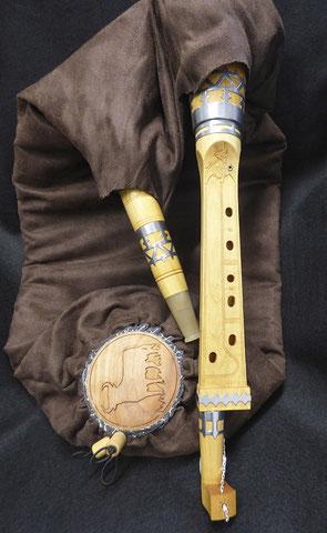 Boha 5 trous + trou de puce Xavier de la Torre par Pascal Petitprez