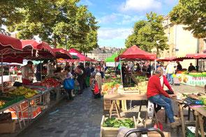 St Hilaire-du-Harcouët market
