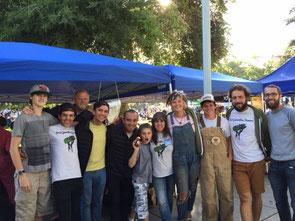 L'équipe de FGF au marché local de Concord