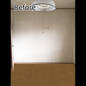 垂水区 洋室1 Before マスタードリフォーム