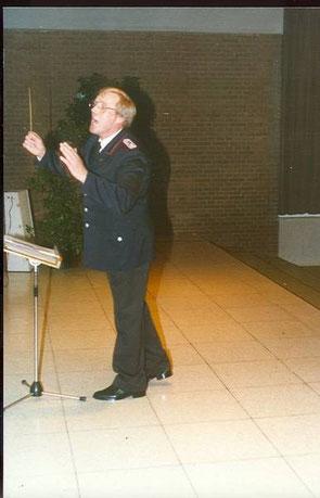1981: Dirigent Johannes Kreipe in seinem Element