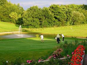Golfplätzen in der Eifel