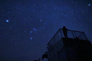 星の多いオリオン座