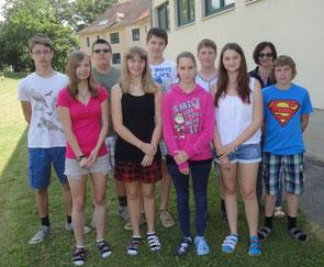 4.HS mit Klassenvorstand Diethilde Bauer