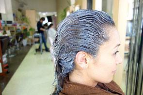 髪に優しいヘアカラー