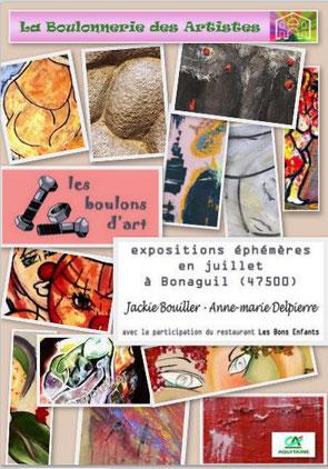 Duo de choc , Boullier -Delpierre , à Bonaguil ;ce mois de juillet !