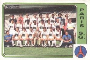 N° 249 - Equipe PSG