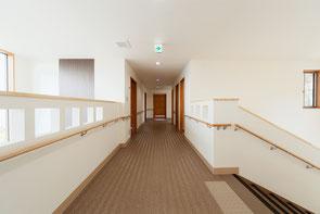 パルテール2階廊下