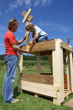 www.ronaldosephius.nl Hut bouwen in Bouwdorp Bewust Groeien vanuit innerlijke kracht