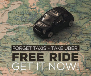 Get a free ride with Uber now!
