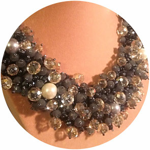 collier, collier court, plastron, bijoux