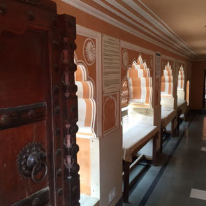 Block Print Museum Anokhi Jaipur Textilrundreise Indien