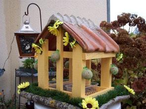 Zelf een vogel voederhuisje maken
