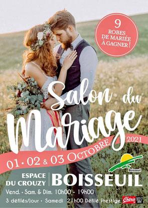 Salon du Mariage à Boisseuil - 1, 2 et 3 Octobre 2021