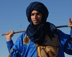 Khalid Boudouar - Wüstenguide - Wüstentrekking Marokko
