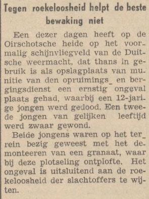 20-4-1946 Nieuwsblad van het Zuiden