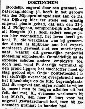31-7-1945 De Graafschap Bode