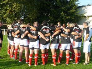 Concentration d'avant match Tarbes Pyrénées Rugby Pro D2