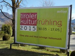 Frühjahrsevent TirolerKulturfrühling