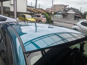 車 屋根 塗装