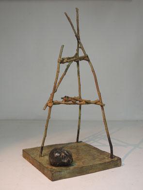 Fig 388, 2017, Bronze, Höhe 39cm, Unikat