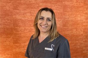 Zorica Banda, Sterilgutassistentin in der Zahnarztpraxis Griesheim