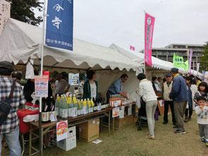 ●芝生広場には、150を超えるお店が集結。公園の管理をしている西武・武蔵野パートナーズさんの「木の実マーケット」という素敵なブースも(右の写真)