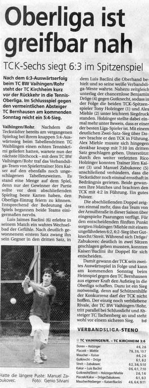 Quelle: Der Teckbote vom 22.07.2014