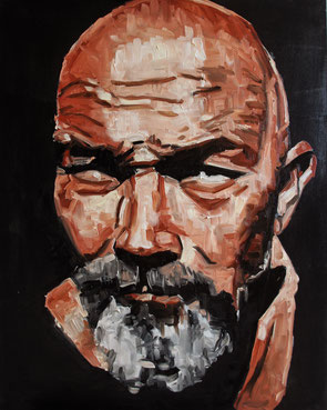 René de VooDoo,  Oil on Canvas , 100 x 80 cm
