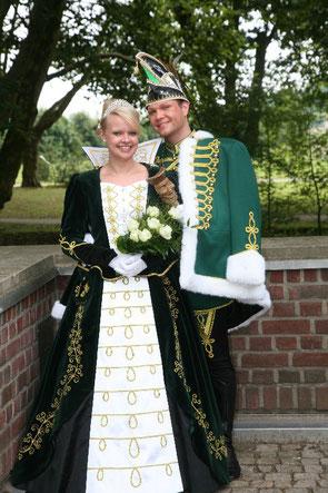 2010 / 2011 Maik I. (Heinze) & Alexandra I. (Schweinsberg)