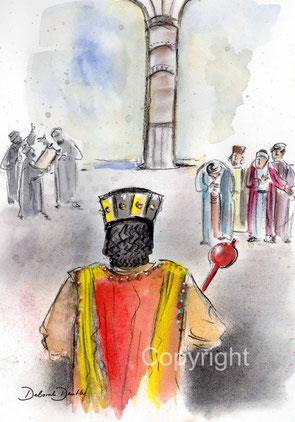 die Weisen bei König Herodes