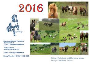 Fjallaborg-Kalender 2016