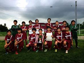 第10回三条市ジュニアサッカー大会 優勝